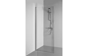 Raamita dušisein LAUREN , kirgas klaas,pööratav