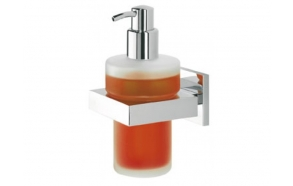 soap dispenser ITEM, chrome, no screw assembling