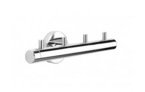 BOSTON hook rail, polished, no screw assembling