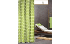 FLOREALE shower curtain textile, lime 180x200cm