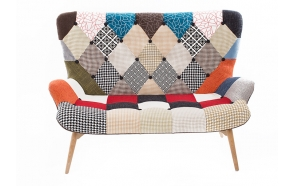 sofa Burg, patchwork