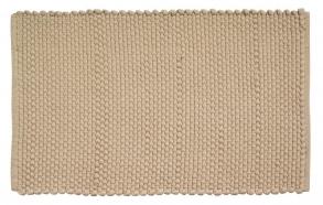 bath mat Cotton Corda, sandy