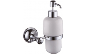 ASTOR soap dispenser, chrome