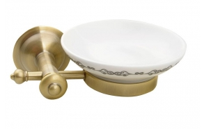 ASTOR Soap dish, bronze