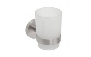 NEO Tumbler holder, Brushed stainless steel