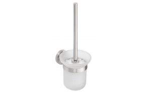 NEO Wall Toilet Brush, Brushed stainless steel