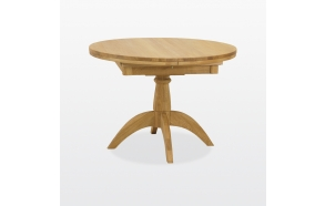 Single pedestal fliptop  table