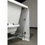 massaaživann Tandem L Hydro-Air, 170x130x50 cm, valge