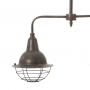 metal vintage ceiling lamp, E27, 220-240V, max.40W