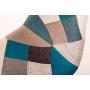 tool Alexis, sinine patchwork kangas, pähklipruunid jalad