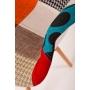 """tool Beata, """"patchwork"""", pähklipruunid jalad"""