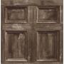 Wood Panel Sidewall, Chocolate