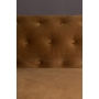 Sofa Chester Velvet Golden Brown