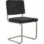 Chair Ridge Brushed Rib Black 7A