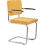 käetugedega tool Ridge Kink Rib, kollane 24A