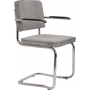Armchair Ridge Kink Rib Cool Grey 32A