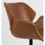 käetugedega tool Nikki All, pruun