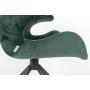 käetugedega tool Mia, roheline