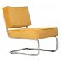 Lounge Chair Ridge Rib Yellow