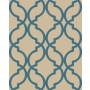 Decadence Moroccan Trellis Blue