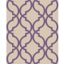 Decadence Moroccan Trellis Purple