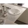 ceramic worktop basin Relief