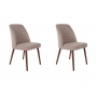 set of 2 chairs Conway Beige