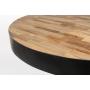 Bistro Table Maze Round Natural