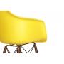baaritool Beata, kollane, tumepruunid jalad