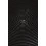 Hypnotising Round Side Table Black