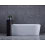 TIBERA L Freestanding Bath 170x80 cm, white