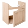cabinet under washbasin Piano, oak, basin not included
