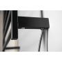 ELZOR Electric Towel Radiator 500x470mm, 50W, black mat