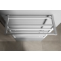 ELZOR Electric Towel Radiator 500x470mm, 50W, mat white