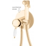 built in bidet mixer New Old, bronze (hot and cold water connection)