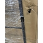 with defect SEGA towel holder 550x1700x70 mm, black