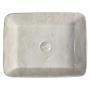 DALMA ceramic washbasin 48x38x13 cm, marfil