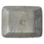 DALMA ceramic washbasin 48x38x13 cm, grigio