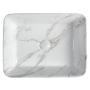 DALMA ceramic washbasin 48x38x13 cm, carrara