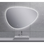 Uovo Led mirror 100x69 cm, dimmable, antifog