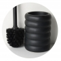 toilet brush w holder Sarah, black