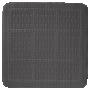 UNILUX shower mat, antracit, 55x55cm