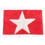 bathmat Star, red