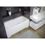 "bathtub 120x70 cm ""MODENA"", incl drain and long side panel"
