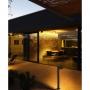 GINA dark grey beacon lamp h 70 cm ,1 x GU10 35W not included