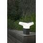 TAO  dark grey beacon lamp h 22 cm ,1 x E27 20W (ei ole komplektis)
