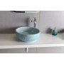 PRIORI ceramic basin diameter 43cm, ceramic, baby blue color