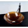 SUN glass washbasin diameter 42cm