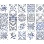 OPORTO Decor Bianco 15x15, müük ainult paki kaupa (1 pakk = 1 m2)