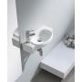 AVE Ceramic washbasin 50x13x27,5cm, white